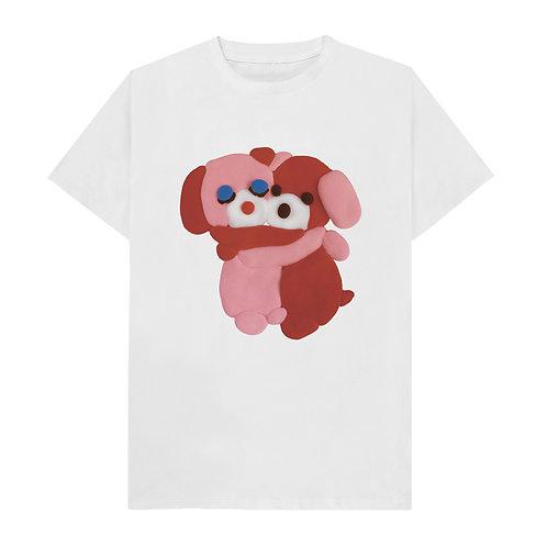 1413MAGAZINE - 5201413 T-SHIRT (pink dog)