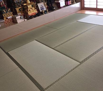 福岡市早良区 寺院 畳表替え.JPG