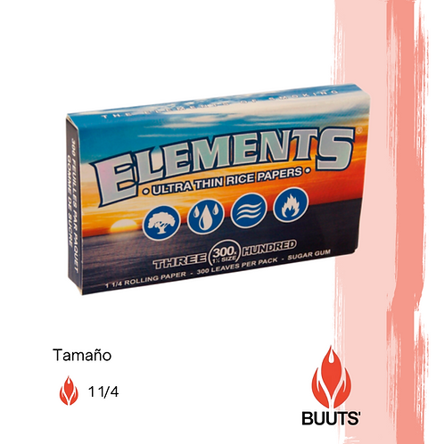 Sábanas Elements 1 1/4 300 piezas