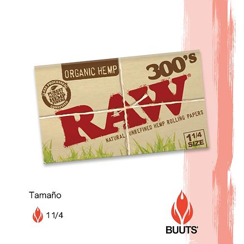 Sábanas Raw cañamo orgánico 300's 1 1/4