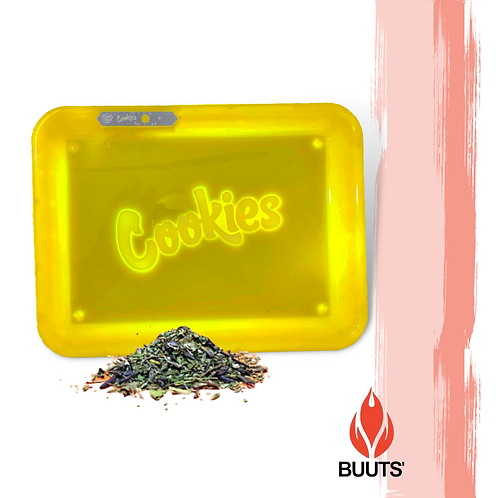 Charola de Luz Led Cookies Yellow