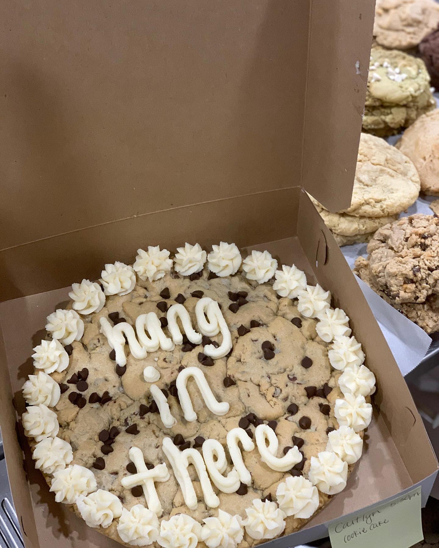hang in there cookie cake - Small
