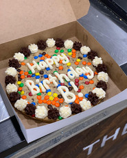 M&M Small cookie cake