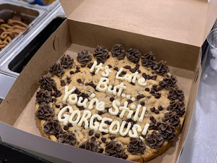 She will forgive you after tasting our cake
