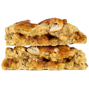 Salty Carmel Pretzel Cookie