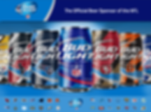 Bud Light NFL Cans