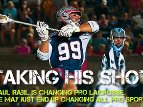 Taking His Shot: Paul Rabil Shakes Up Pro Sports