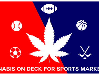 Cannabis on Deck for Sports Marketing