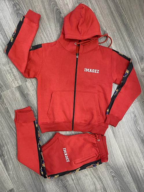 Red Imagez jogger set