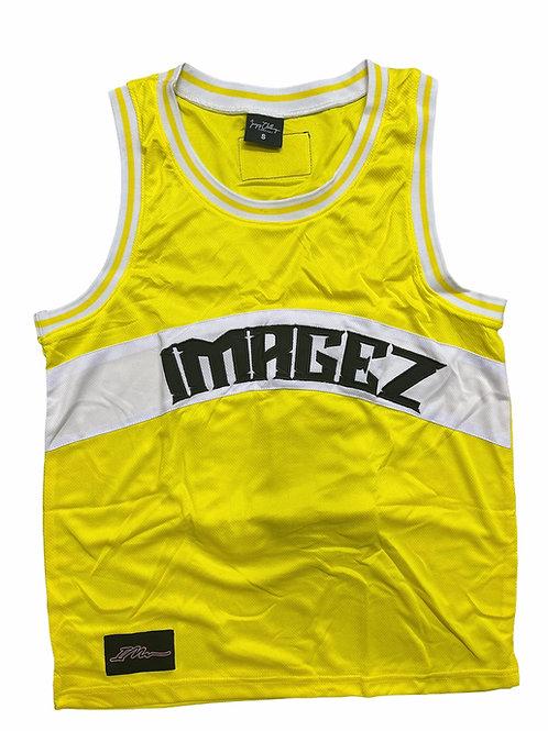 Yellow Basketball Jersey