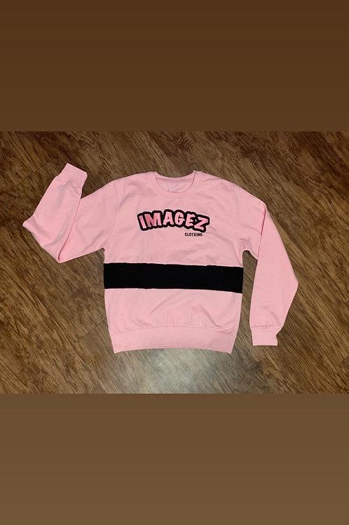 Pink & Black Sweatshirt