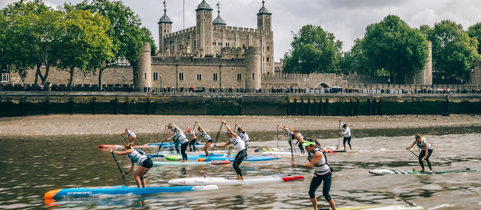 Tenths of Second Separate Competitors on Thames River Distance Course 2019