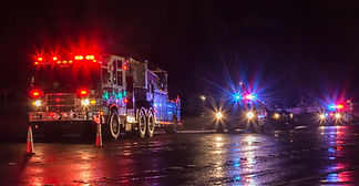 First Responders - firefighters and poli