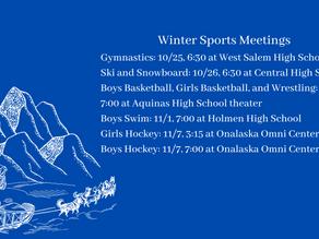 Winter Sports Meetings
