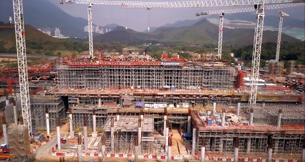 Drone footage Hong Kong Triple8Films