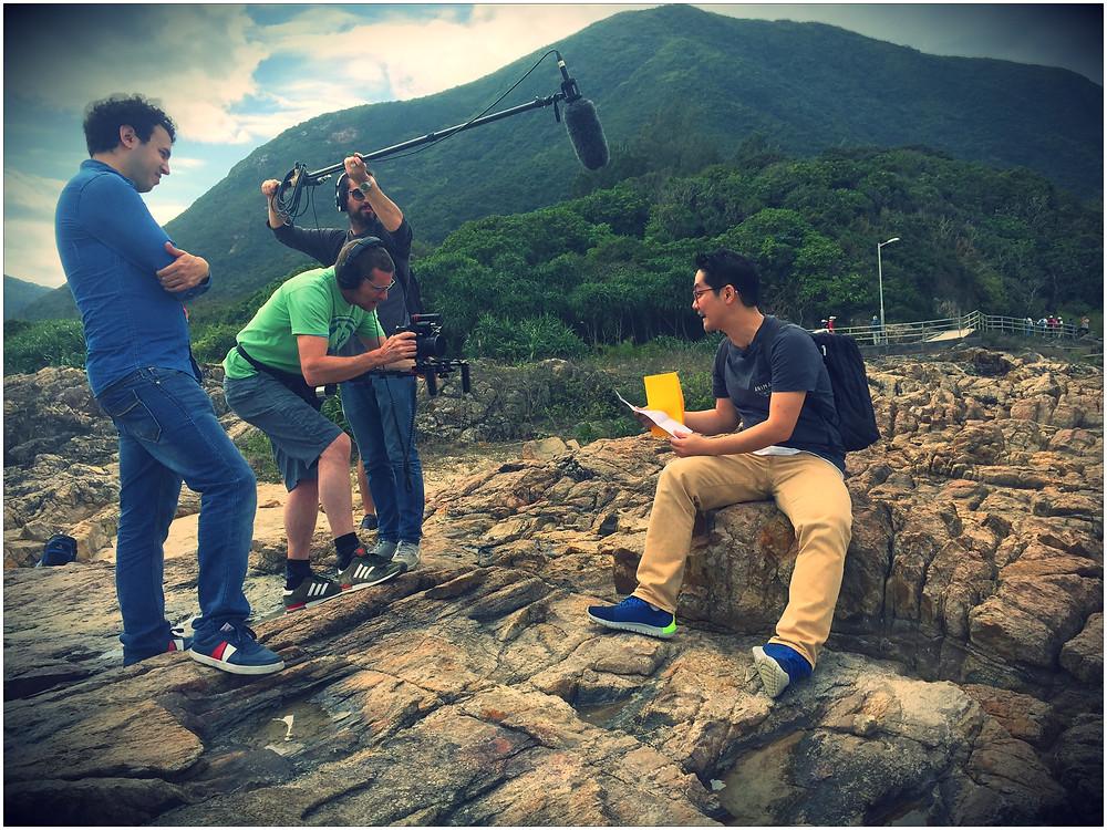 Triple8films videographer HK sound guy