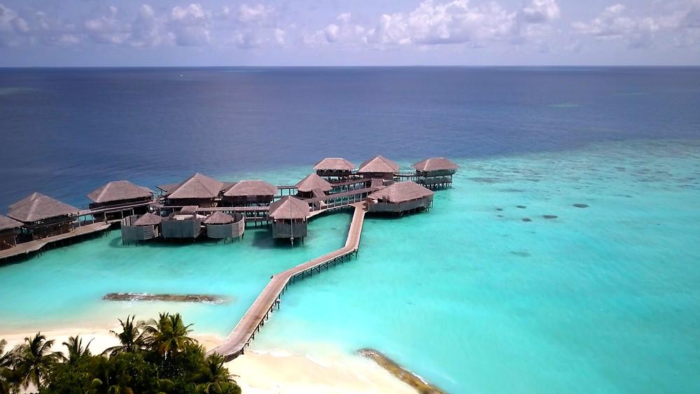 Triple8Films drone Maldives