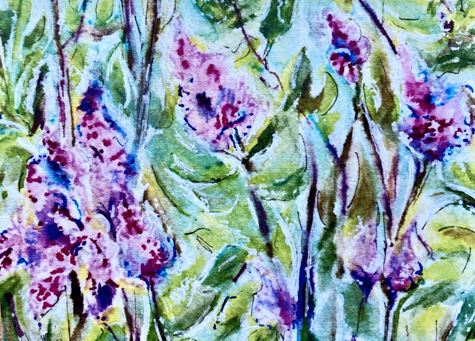 In Amongst the Lilacs: Item # - A50