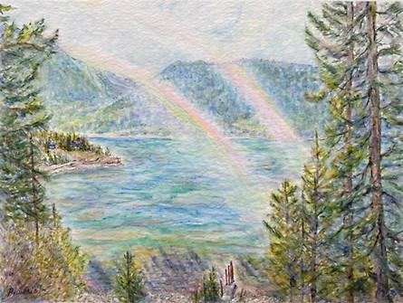 Magic in the Air at Kootenay Lake