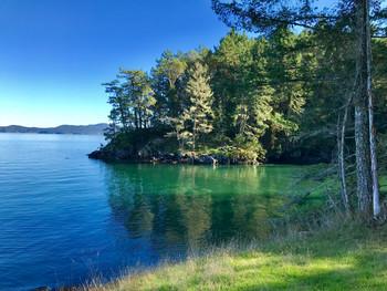 A Secluded Spot on Salt Spring Island