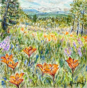Lilies on the Hill