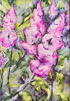 For the Love of Lilacs - SOLD