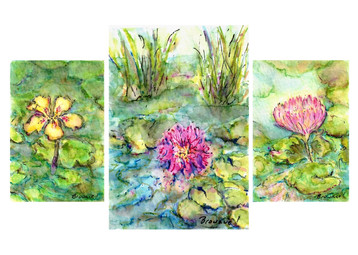 Waterlilies and Lotus: Item # - A16