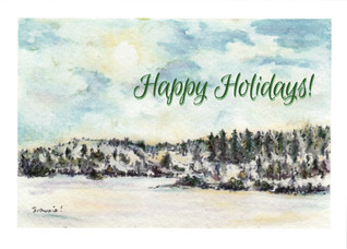 Happy Holidays (Winter in the Foothills): Item # - S14