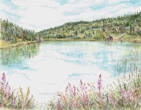Mid-Summer at the Lake