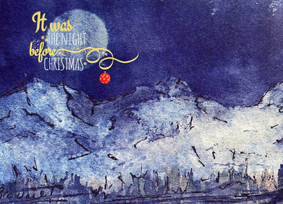 It was the Night Before Christmas with Bauble (Mystery Moon): Item # - S2