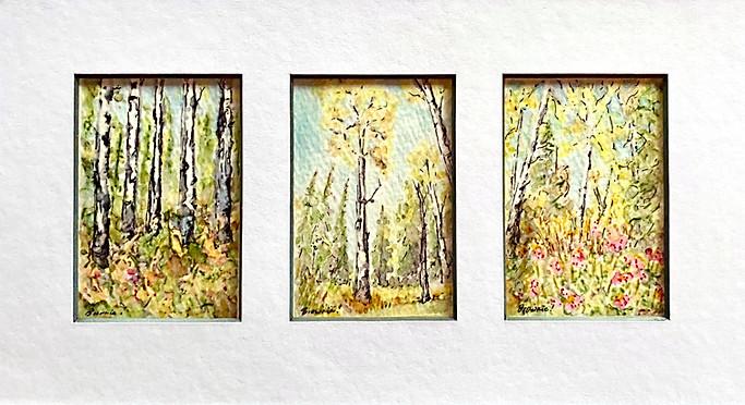 Autumn Aspen - A Tiny Trio