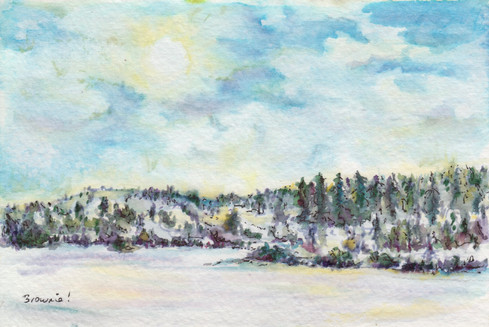 Winter in the Foothills: Item # - A5