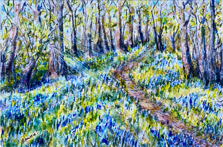 Forest Bluebells: Item # - A41