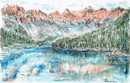 Moraine Lake: Item # - A34