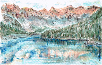Moraine Lake: Item # - A34