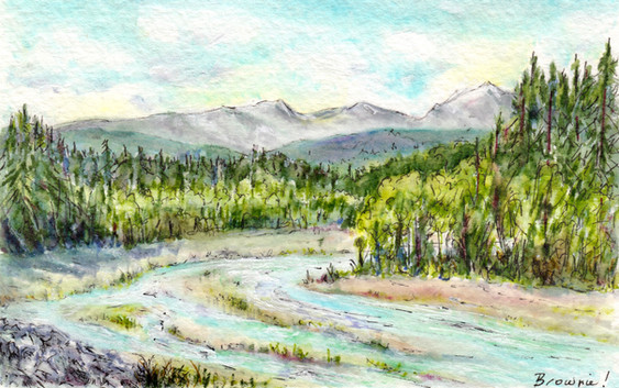 Down By the Elbow River: Item # - A35