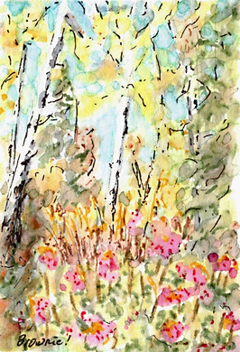 A Tiny Trio - Autumn Aspen