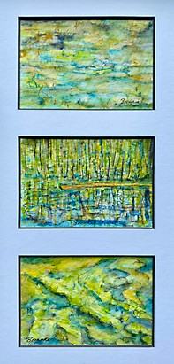 A Tiny Trio - Upon the Water, In the Reeds, By the Shore