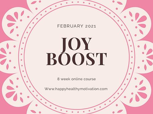 Joy Boost- Feb2021 online group
