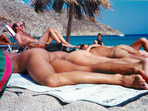 Group Travel, Mykonos - 1990 Style