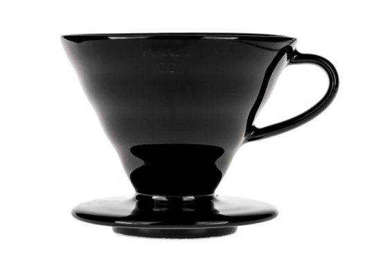 Hario - V60-02 - Ceramic Black Dripper