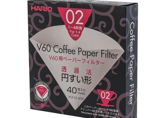 Hario - V60-02 - Paper filter (40pcs)