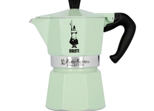 Bialetti Moka Express Mint IcedMoka Express Iced Coffee  is a refreshed version