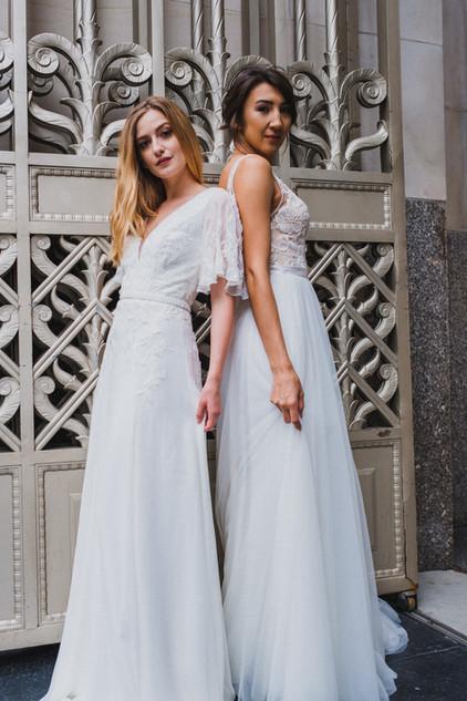 Corrine and Albina