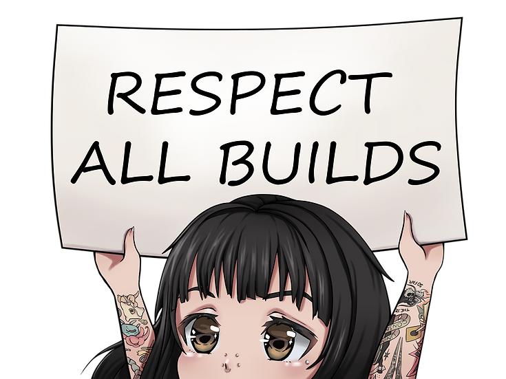 RESPECT ALL BUILDS CAR DECAL