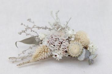 Arrajo de cabeça flores secas