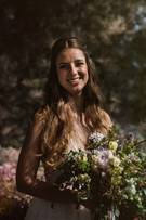 Brenda e seu bouquet