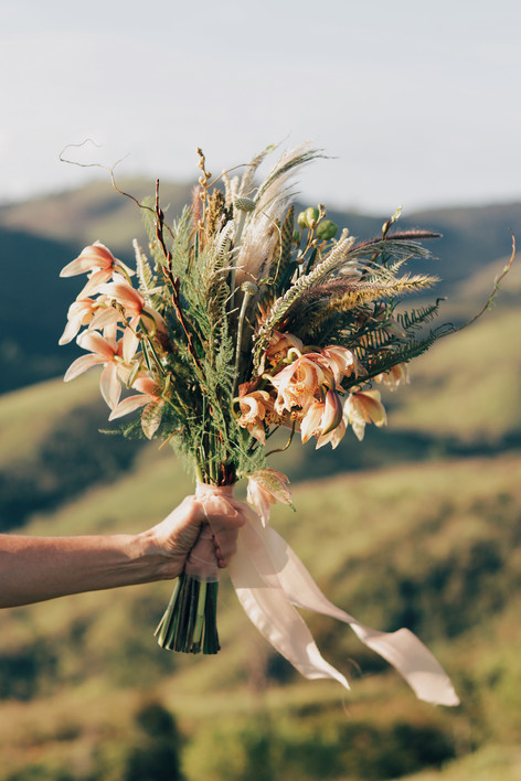 Bouquet de noiva para Renata