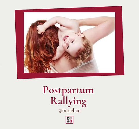 Postpartum Rallying - therapeutic support group for mothers. Facilitator - Tatiana Ceban, perinatal counsellor, Blenheim, Marlborough, New Zealand.