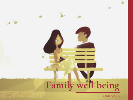 Family well-being checklist